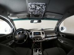 Pick up a custom designed dash kit for your Toyota Tacoma truck today and choose from more than 100 styles and colors. 2014 Tacoma, 2011 Toyota Tacoma, Custom Car Interior, Truck Interior, Custom Car Audio, Custom Cars, Toyota Tacoma Interior, Tacoma Headlights, Volkswagen R32