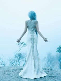Enchanting Ice Princess Portraits - The Immaculate Dream Dewi Editorial is Ethereal (GALLERY)#!/photos/159347/6