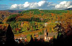 Der schöne Herbst geht zu Ende. ... Sturmtiefs sind nächste Woche angesagt. Da war ich noch schnell in Mettlach.  :-)
