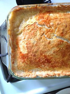 Homestyle Chicken Pot Pie Recipe with Parmesan Crust. Great for Turkey Leftovers, too! Food Apparel