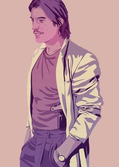 Jaime Lannister Miami Vice mode.  by Mike Wrobel