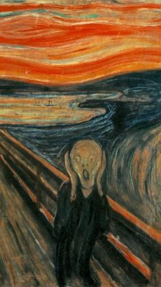 TOP TEN MOST FAMOUS PAINTINGS IN THE WORLD: 8. The Scream: By Edward Munich