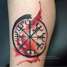 Never Get Lost with Vegvisir Tattoos | Tattoodo