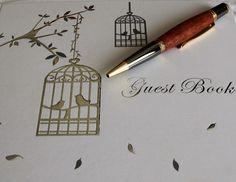 Sierra Gold Jarrah Woodturned Pen by RomanticRiver on Etsy