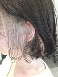 We might not be able to check out professional hair salons today, but i am Dip Dye Hair, Dye My Hair, Medium Hair Styles, Short Hair Styles, Professional Hair Salon, Hair Streaks, Aesthetic Hair, Hair Arrange, Ombre Hair