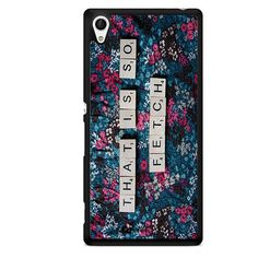 That Is So Fetch TATUM-10593 Sony Phonecase Cover For Xperia Z1, Xperia Z2, Xperia Z3, Xperia Z4, Xperia Z5