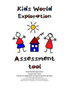 More free assessment tools - direct link http://learningandteachingwithpreschoolers.blogspot.com/2011/06/assessment-tools.html