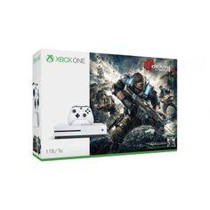 Consola XBox One Slim de 1 TB si joc Gears Of War 4 inclus acum la un pret special.