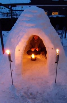 This winter, I want to get drunk and make an epic snow fort with my friends in Boulder.