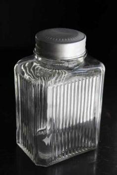 Vintage Style Glass Storage Jars - Medium