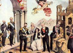 Η Ένωση της Κρήτης με την Ελλάδα: Την 1η Δεκεμβρίου του 1913 η Κρήτη ενσωματώθηκε και επίσημα στο ελληνικό κράτος.  Αιώνες αιμάτων και δακρύων έβρισκαν επιτέλους την ιστορική τους δικαίωση.