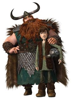 Hiccup Horrendous Haddock the Third | ... Stoick e Hiccup Horrendous Haddock the Third del film Dragon Trainer