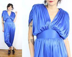 Vintage Love // Washington, D. 60s And 70s Fashion, Retro Fashion, Disco Jumpsuit, Grecian Goddess, Polka Dot Mini Dresses, Minimalist Dresses, Light Blue Green, Cotton Suit, Stripe Skirt