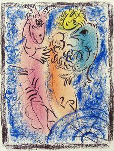 Marc Chagall, 'Le Bouquet Bleu (The Blue Bouquet), 1974', 1974, Masterworks Fine Art | Artsy