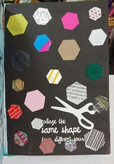 """Anti Journal """"Collage the same shape"""" #antijournal"""
