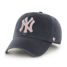 quality design 003cb 04c1f New York Yankees Clean Up Navy Pink 47 Brand Womens Hat Yankees Outfit, Yankees  Hat
