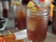 Grilled New Old-Fashioneds recipe from Damaris Phillips via Food Network