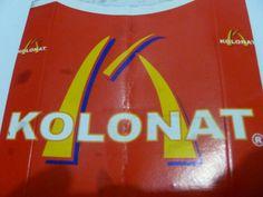 Albania's McDonalds. Kolonat.