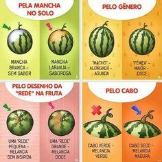 Como Escolher Melancia -  /   How to Choose Watermelon -
