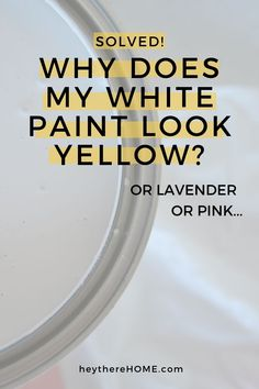 How to choose the right white paint for your home. Everything you need to know before choosing a white. #whitewalls #color #colorpalette #undertones #painting #painttips #DIYdecor #homedecor #homedecorating #wallcolor #neutralcolor Greige Paint Colors, Neutral Paint Colors, Room Paint Colors, Paint Colors For Home, House Colors, White Wall Paint, Best White Paint, Grey Paint, White Paints