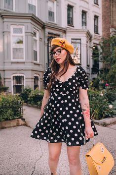 df4a346e6c7 Polka Dot Mini Dress and  29 sale on Keiko Glasses