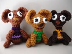 The bears I made this week.