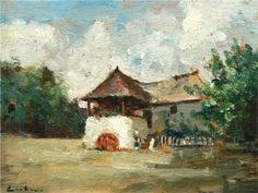 House in Oltenia - Stefan Luchian