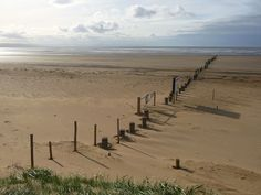 Berrow (South) is a Sandy beach located near Burnham on Sea in Somerset. Uk Beaches, North Somerset, Burnham, South Beach, Great Britain, Countryside, England, Happiness, Vacation