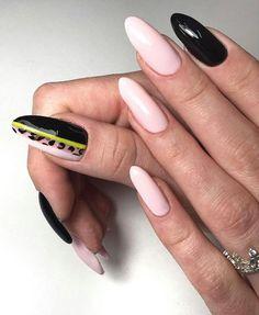 chic nail art idea for everyone Long Nail Designs, Simple Nail Designs, Nail Art Designs, Types Of Manicures, Types Of Nails, Nail Manicure, Toe Nails, Chic Nail Art, Summer Acrylic Nails