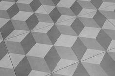 Illusion Feature Floor Tiles Grey 33x33cm | eBay