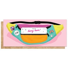 Fanny Pack Card - This Card Holds Stuff!