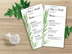Your place to buy and sell all things handmade Printable Menu, Printable Wedding Invitations, Wedding Invitation Suite, Wedding Menu, Wedding Suits, Wedding Ideas, Watercolor Design, Watercolor Wedding, Love Design