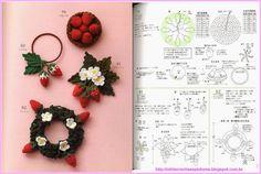 acessórios+de+crochê+morangos.jpg (1600×1074)