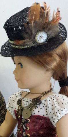 9 piece Steampunk Costume for American Girl Doll by SuzieQsKloset