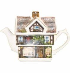 Red LIon Teapot - James Sadler James Sadler Teapots