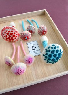 The list of talents attached to Vancouver-based artist Hine Mizushima's name includes stop-motion puppet animator, illustrator, needle felter, toy designer, and sculptor. Her colorful hand-stitched squids, octopi, mushrooms, and medical specimens that might otherwise be described as creepy or