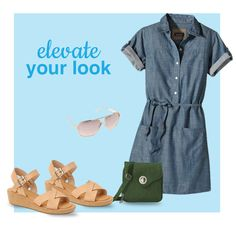 Everyone loves a stylish denim outfit! This dress is a must-have for spring. Pair it will the right accessories and a classic pair of wedges. This fashionable outfit that will be your next go-to this season.