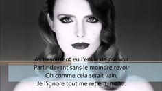 Elodie Frégé - Tes yeux [Lyrics Vidéo]