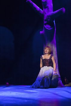 Les Misérables, Tampereen Teatteri: Ele Millistfer (Fantine). Photo: Harri Hinkka