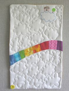somewhere over the rainbow ... looks like an easy enough starter quilt