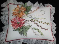 NOCHEBUENA RADIANTE EN UN INDIVIDUAL (Radiant Poinsettia on a place mat) - YouTube
