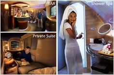 Yes, Air Emirate has private suites on their planes...