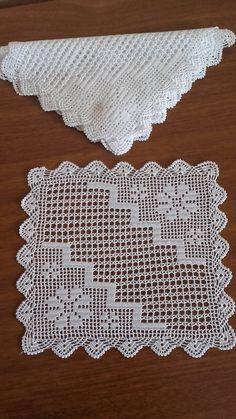 Crochet Tablecloth Pattern, Crochet Motif Patterns, Crochet Borders, Crochet Doilies, Crochet Flowers, Crochet Stitches, Crochet Art, Filet Crochet, Crochet Decoration