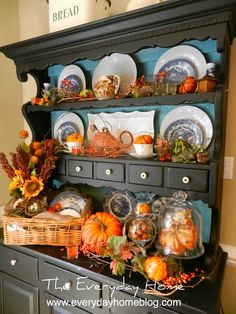 fall decorating the everyday home