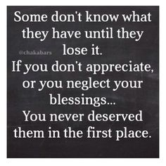 Don't neglect your blessing!