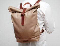 waxed canvas rucksack