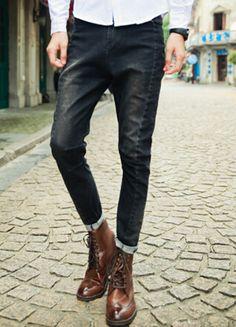 Japanese Vintage Style Pants Jeans www.evolvezinc.com