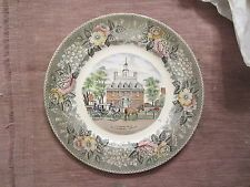 Vintage GOVENOR'S PALACE WILLIAMSBURG VA Collector Plate ADAMS Est 1657 England