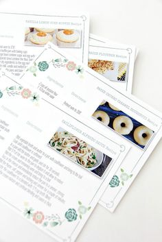Easily diy a beautiful recipe binder to give as a gift or keep for diy family recipe book and how to make recipe cards for family recipes solutioingenieria Image collections