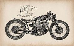 Alcon motorcycles: black